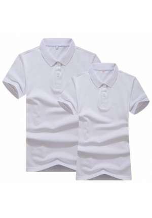 双色丝光POLO衫T恤